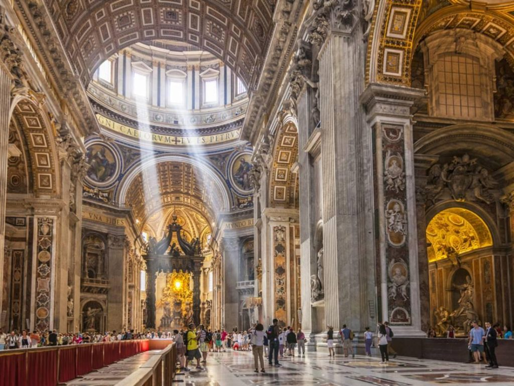 Sacred Art in St. Peter's Basilica