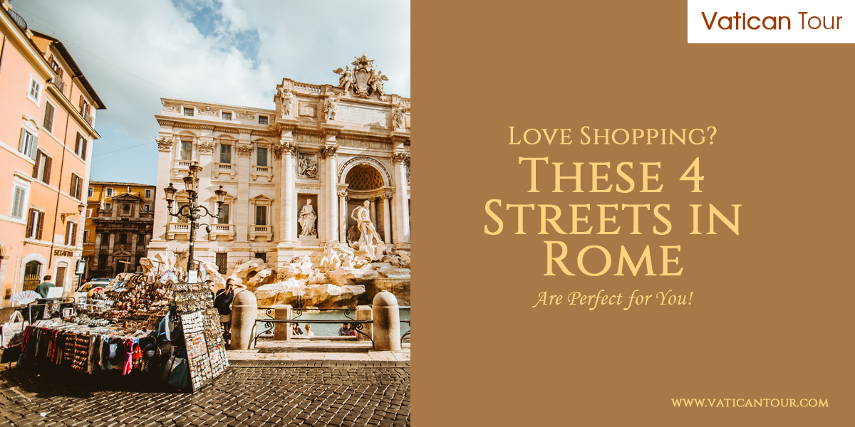 shop infront of the trevi fountain rome