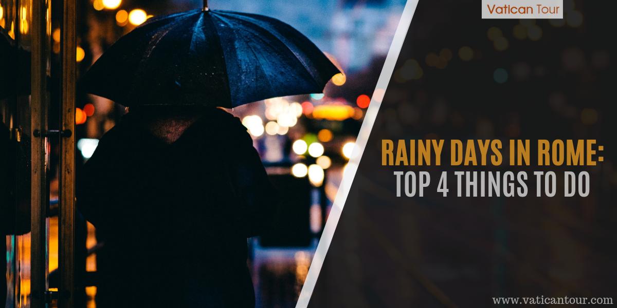 Raining in Rome