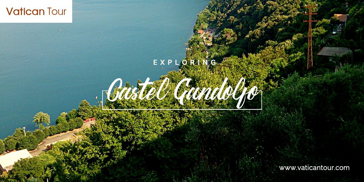 Exploring Castel Gandolfo