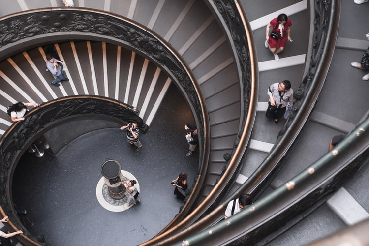 The Vatican museum tour