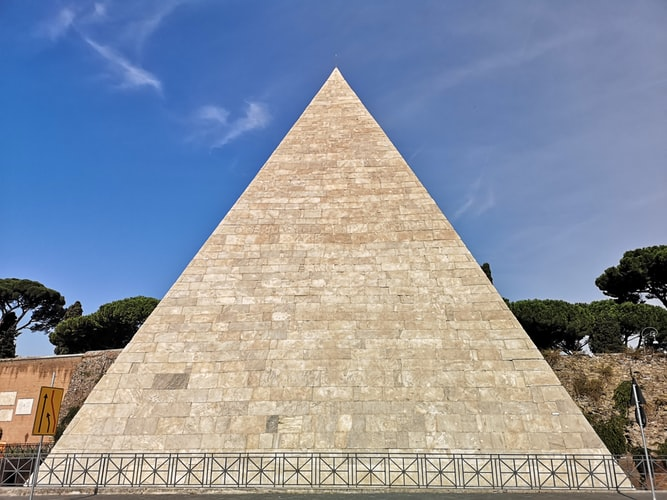Visit Rome's only Pyramid