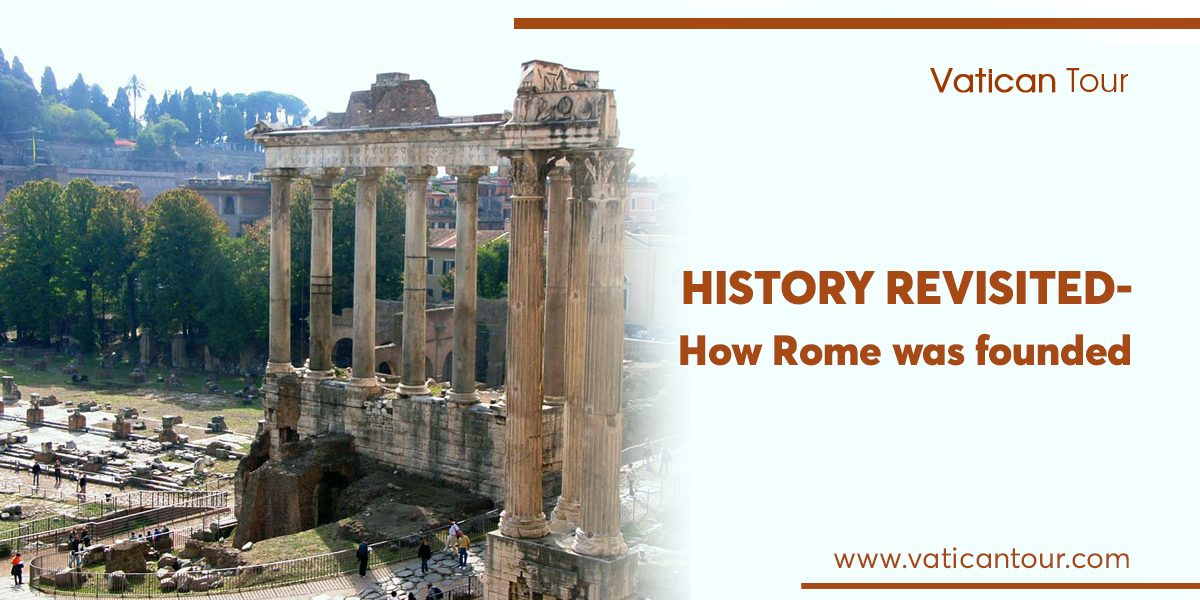 Roman forum and temples