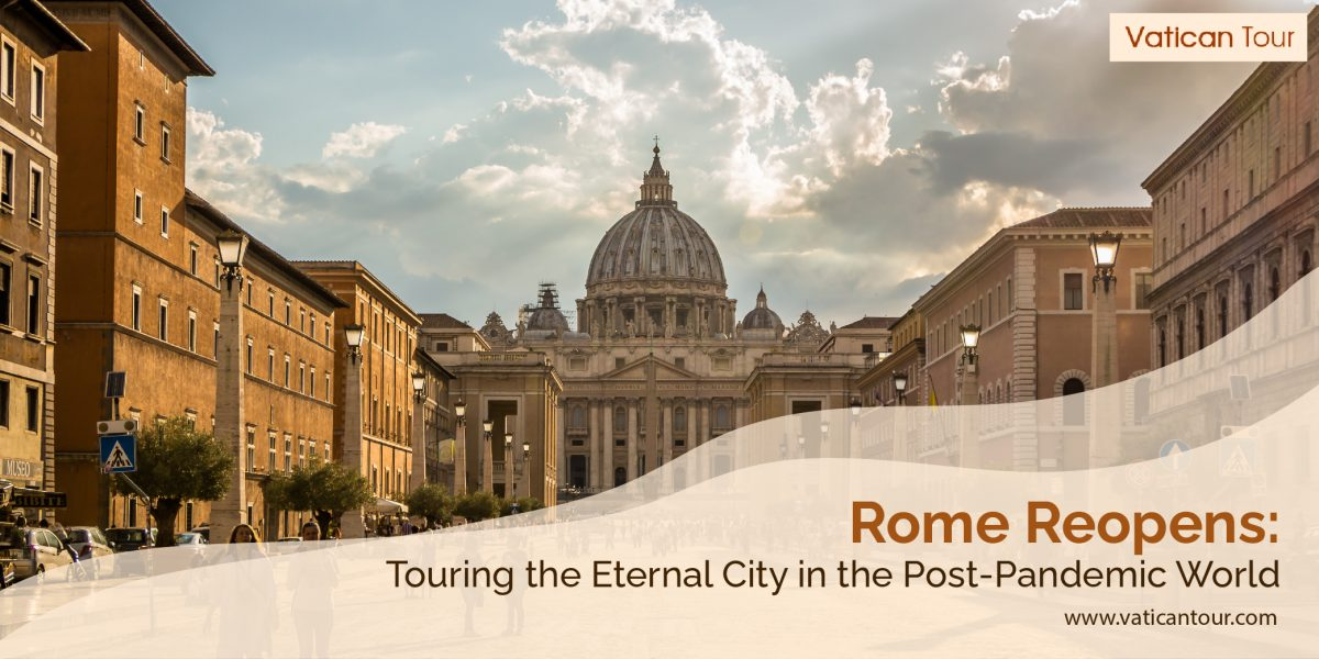 the vatican city with few tourists covid-19