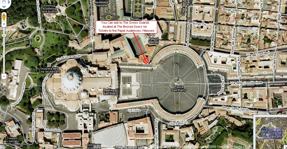 papal audience tickets free